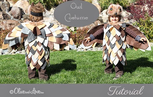my owl barn diy simple owl halloween costume. Black Bedroom Furniture Sets. Home Design Ideas