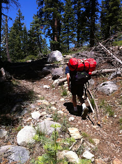 Why the dearth of blogging this summer?  Backpacking and Camping!