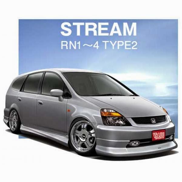 Body Kit Honda Stream RN1 Value Sports