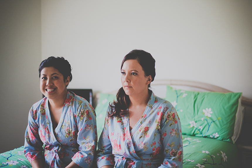 bridesmaids matching bathrobes melbourne