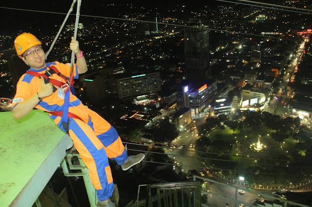 Ziplining in Cebu City - Renz Cheng
