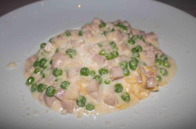 Rao's Las Vegas - Taglione with Peas & Ham