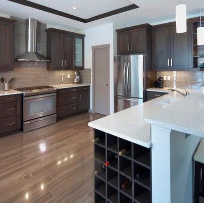 Dise os y tipos de pisos para cocina para que elijas el Pisos para cocinas fotos