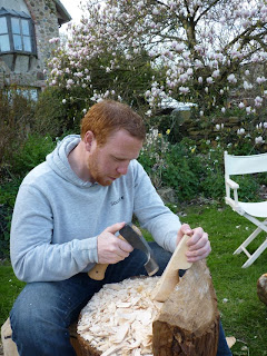 kuksa bushcraft spoon carving first steps