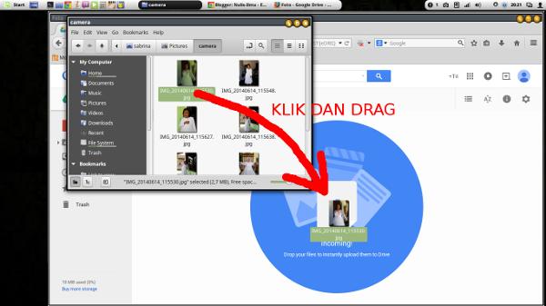 google drive-upload file