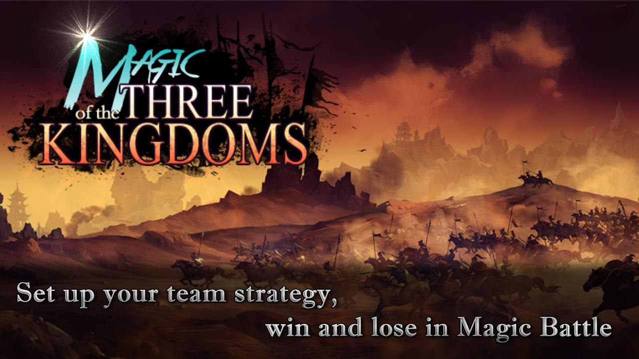 Magic Of The Three Kingdoms Gameplay Android