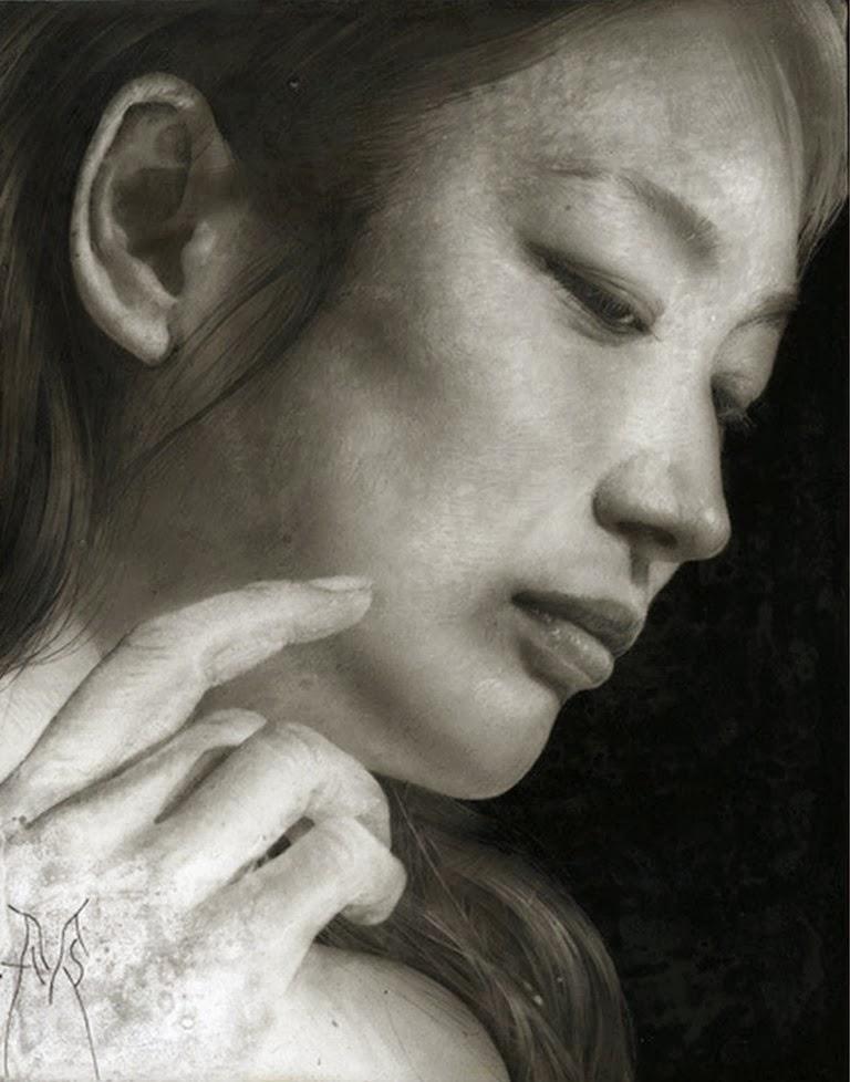 retratos-a-lapiz-rostros-de-mujeres
