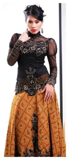 Model Rambut Set Kebaya