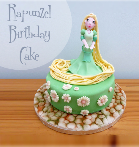 Rapunzel Birthday Cake Craft me Happy Rapunzel Birthday Cake