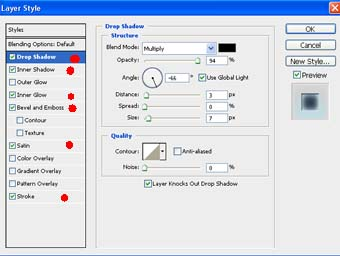 beri efek transparan dengan merubah mode layer menjadi overlay dan
