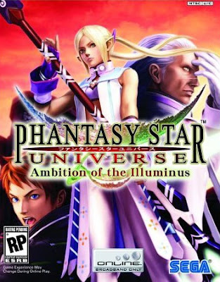Phantasy Star Universe Ambition of the Illuminus PC Cover