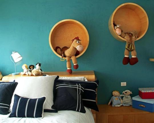 Wood Barrels decorating ideas
