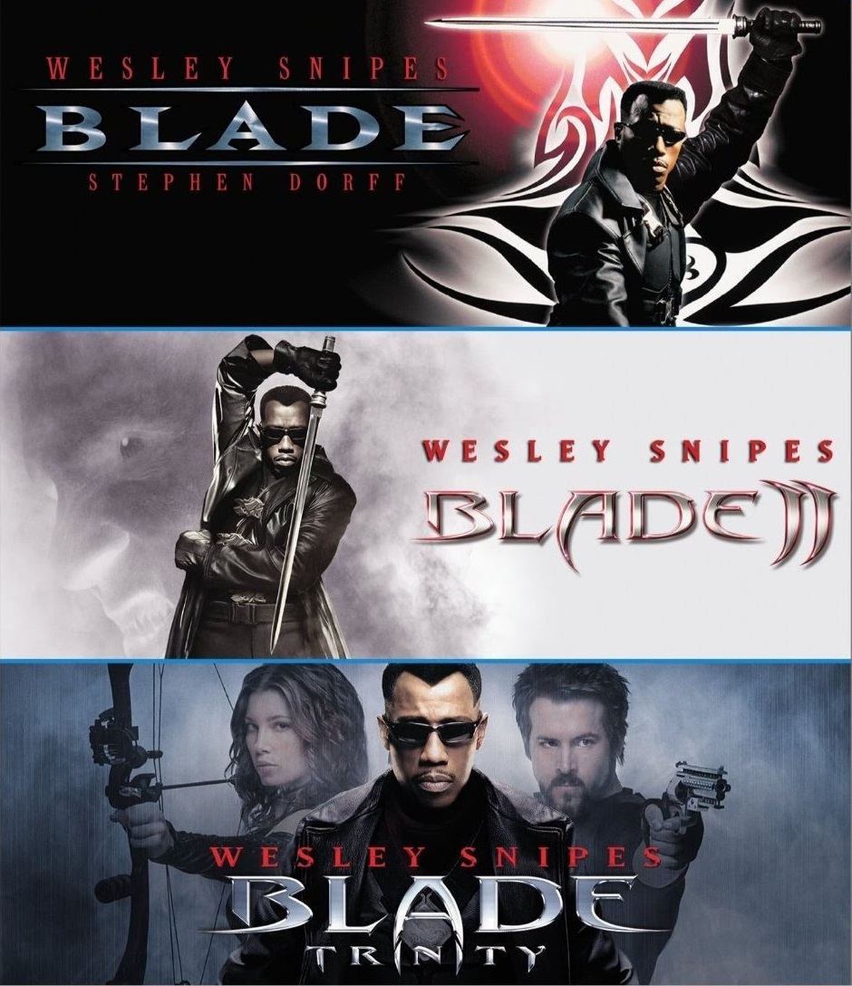 Blade Trilogy Collection (1998-2004) ταινιες online seires xrysoi greek subs