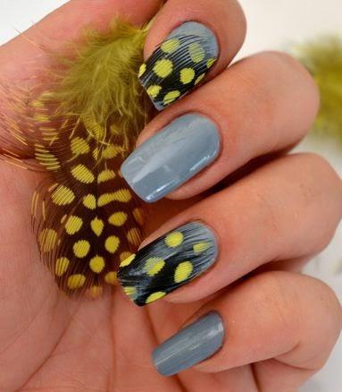 C mo decorar u as con plumas diy belleza y peinados - Plumas para decorar ...