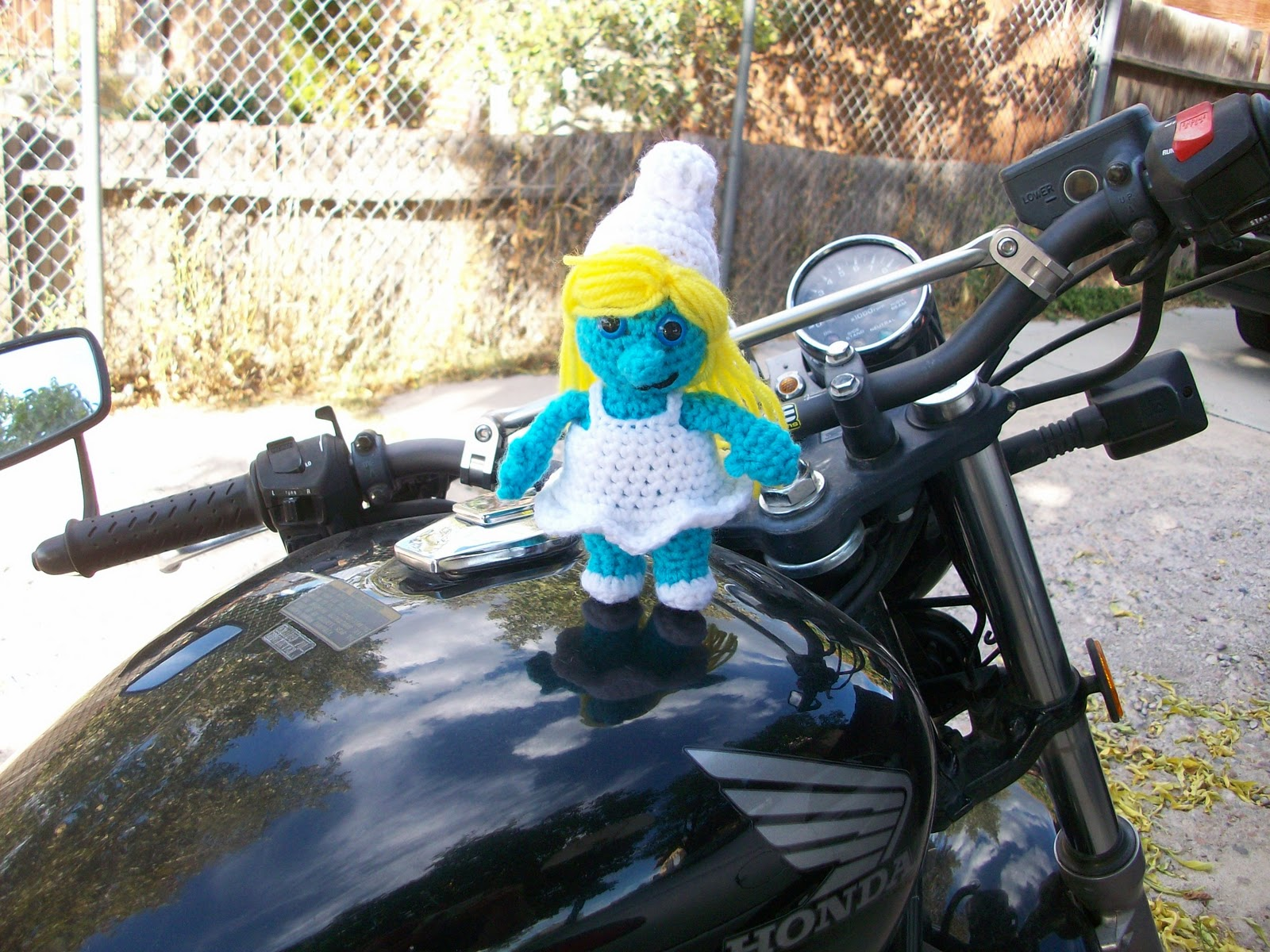My crocheted world smurfette free crochet pattern smurfette free crochet pattern bankloansurffo Image collections