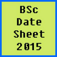 University of Azad Jammu and Kashmir BSc Date Sheet 2016
