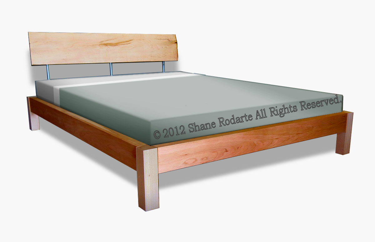 Maple Platform Bed 1200 x 777