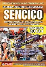 Examen SENCICO 2013