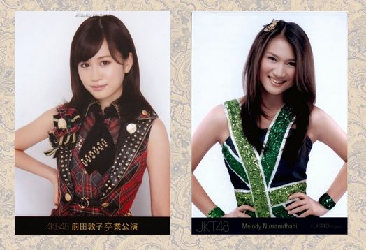 Atsuko Maeda (AKB48) % Melody (JKT48)
