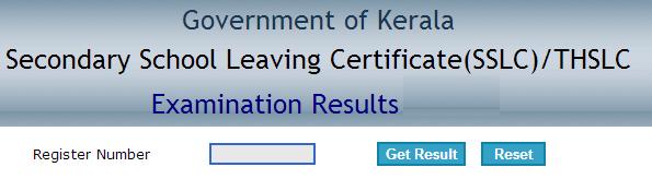 Kerala SSLC Examination Results - 2015