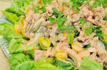 Oktay Usta Enginarlı Ton Balık Salatası Tarifi Yeşil Elma