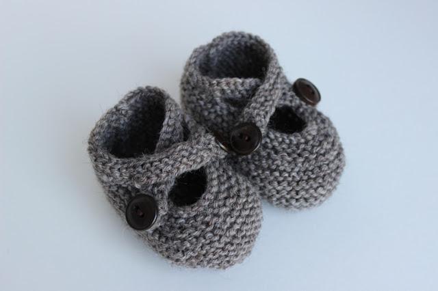 Saartje's baby booties