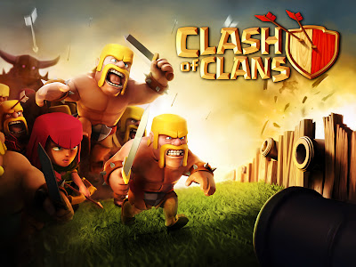 Clash of Clans Mobile Game HD Wallpaper