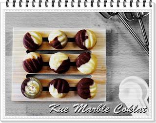 Cara Membuat Kue Marble Coklat Manis Gurih dan Renyah