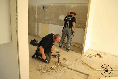köksrenovering med nytt kök och golv