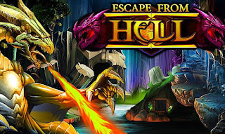 Screenshots of the Escape from hell for Android tablet, phone.
