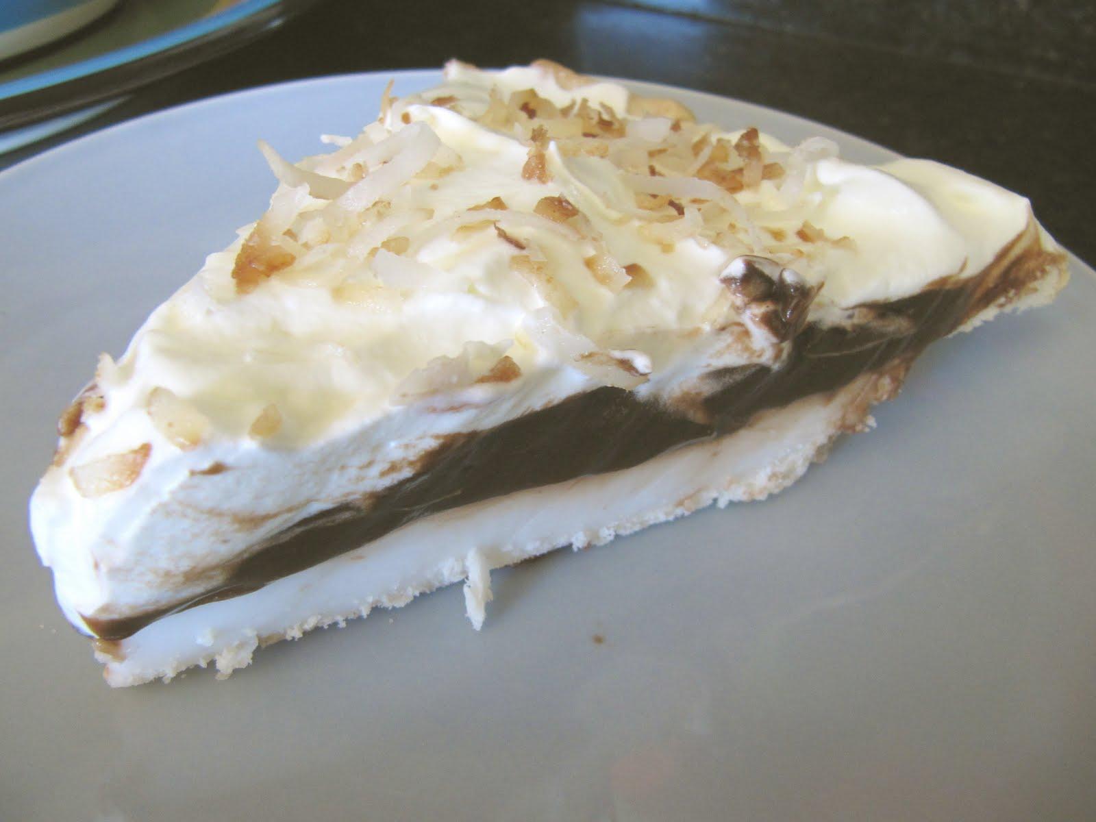 Chocolate Haupia Pie Recipe — Dishmaps