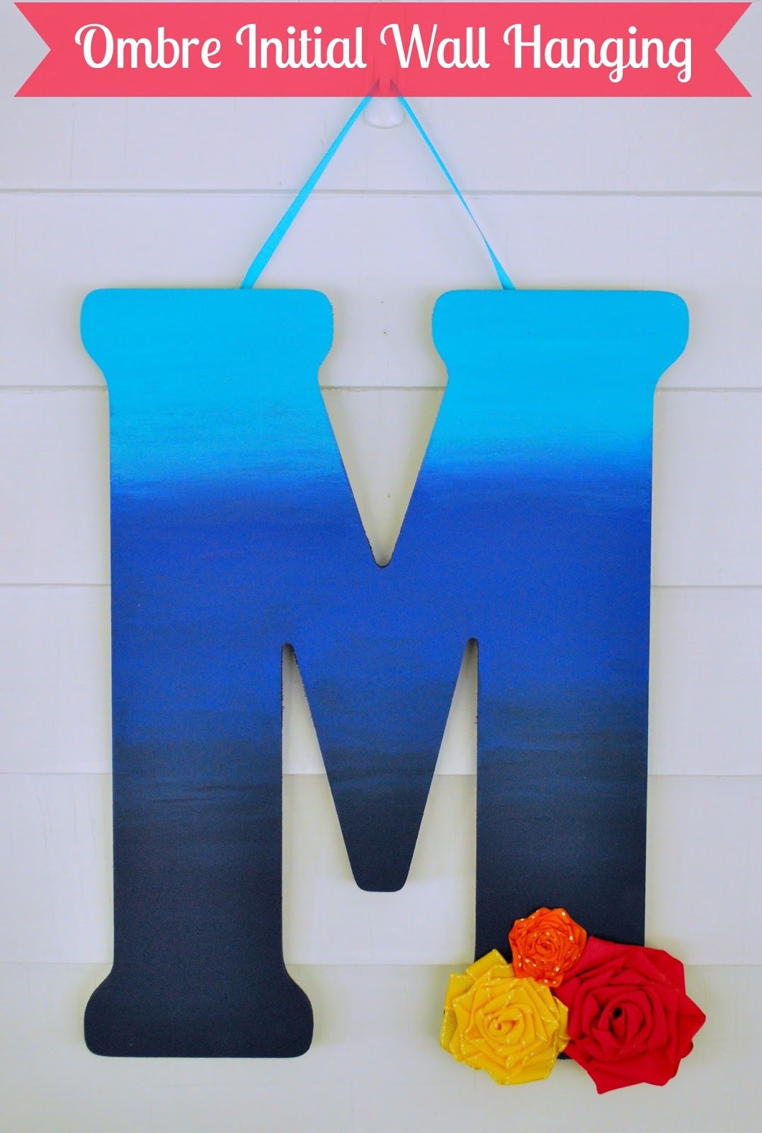 http://www.aglimpseinsideblog.com/2015/10/ombre-initial-wall-hanging.html
