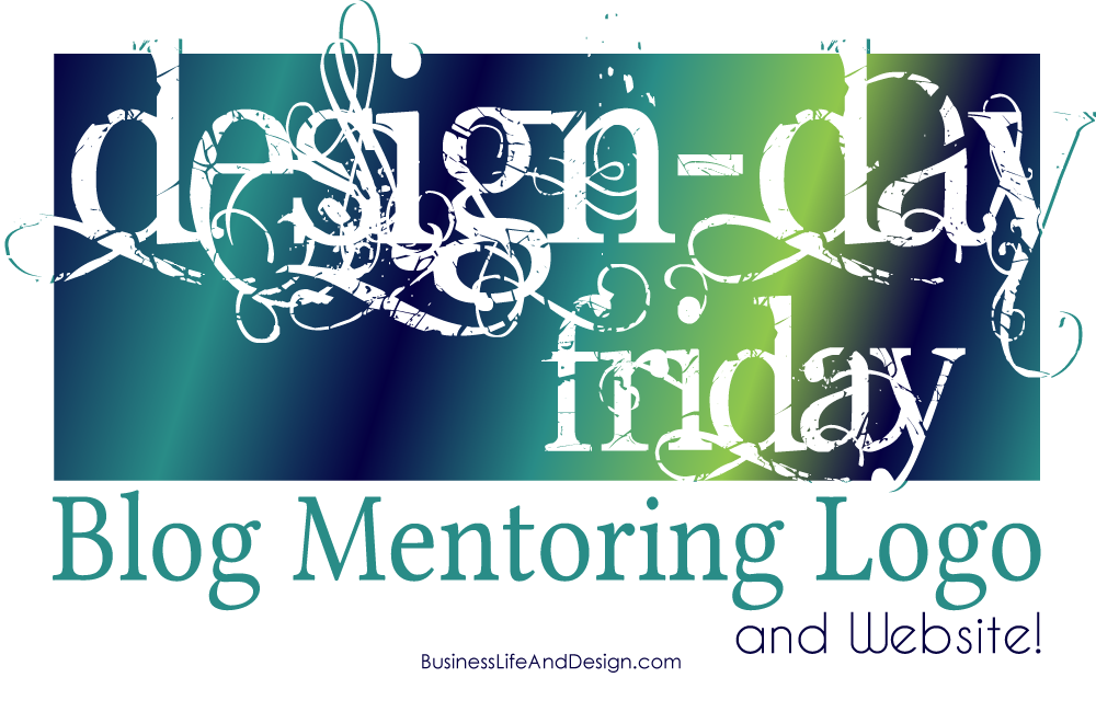 Blog Mentoring Logo and Website - Design Day Friday