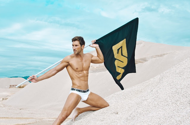 Garcon model underwear for men
