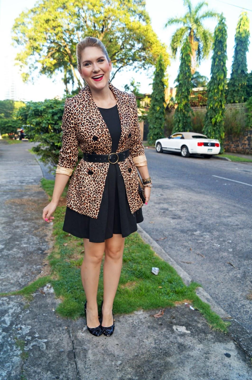 Leopard Coat Outfit