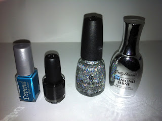 Nailpolish bottles Depend Konad china glaze Sally hansen