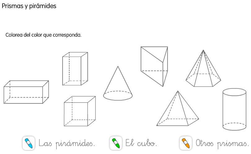 Prismas y pirámides - Imagui