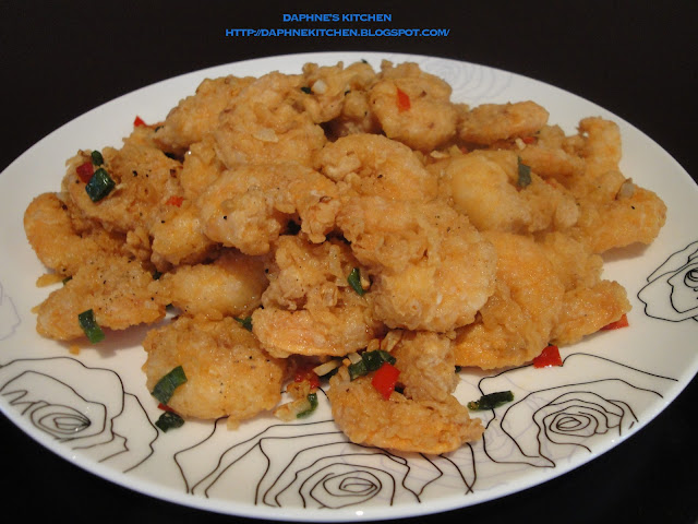 Hi all, I learn this very simple salt and pepper prawn from one of my ...