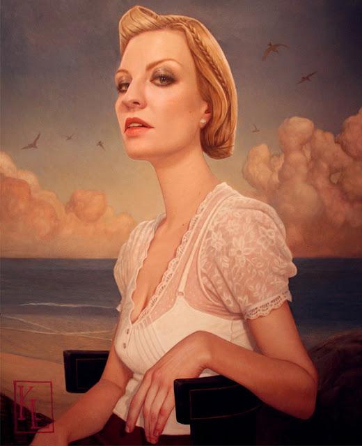 Digital Paintings by Kris Lewis