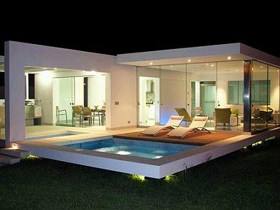 Banco de imagenes y fotos gratis fotos de casas modernas for Plano de casa quinta moderna