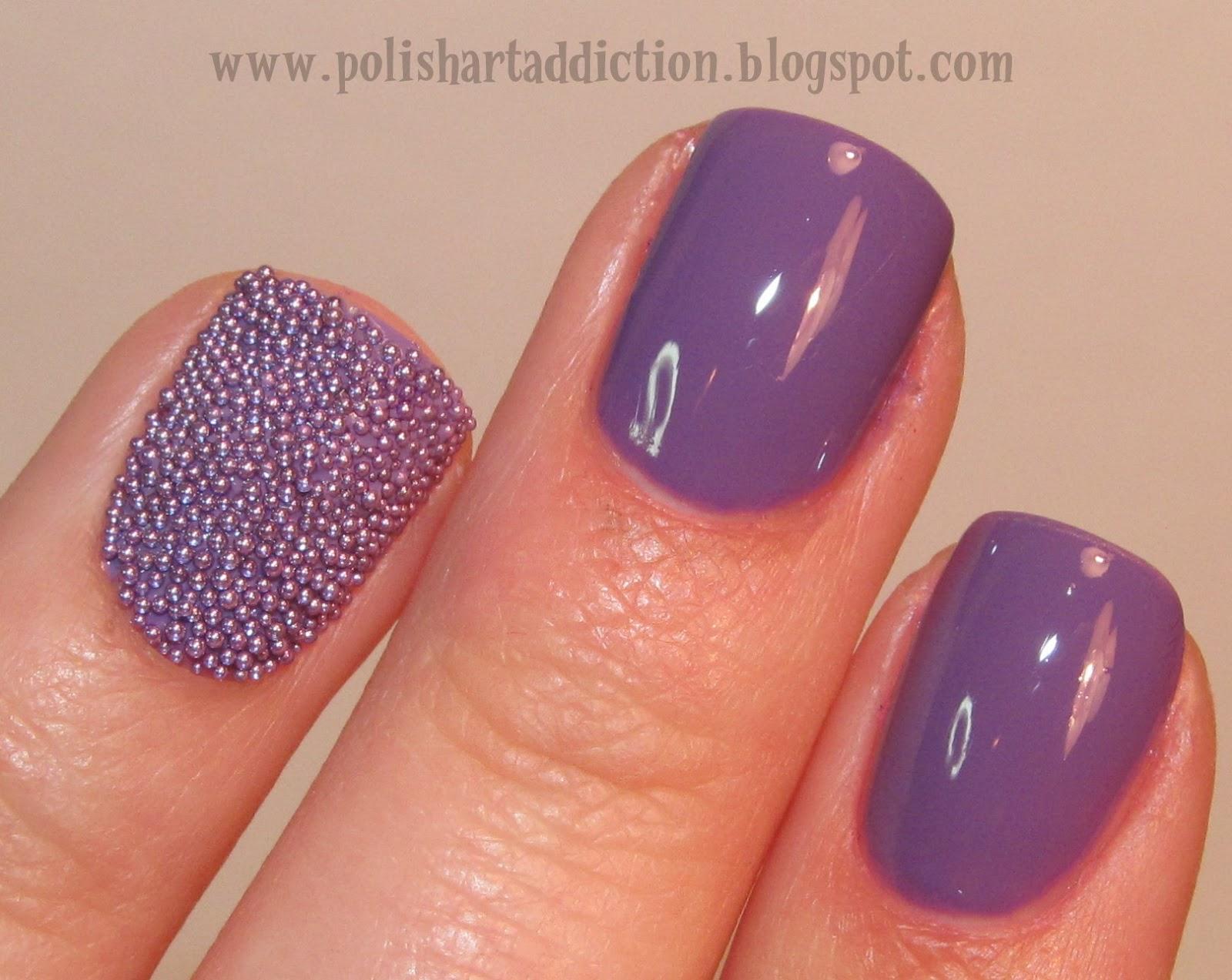 Novelty Nails - Microbeads/Fish Eggs