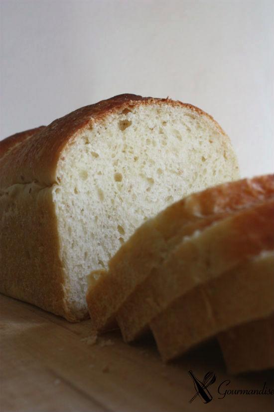 Pão de leite com fermento natural