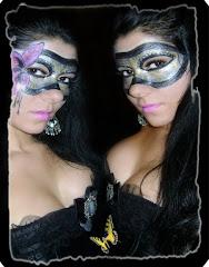 Venetian Mask Makeup