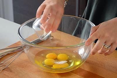 Plumcake salato con emmenthal e prosciutto cotto 2