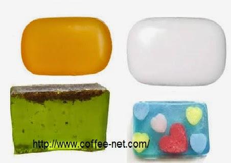 صناعة الصابون الشفاف بالجلسرين و تزينه-مشروع فى المنزل تصنيع صابون صلب طبيعى شفاف