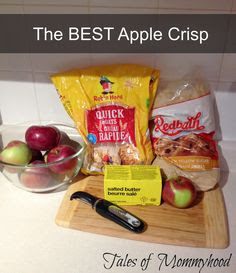 best apple crisp, apple, streusel, cinnamon, apple picking, apple season, fall recipes