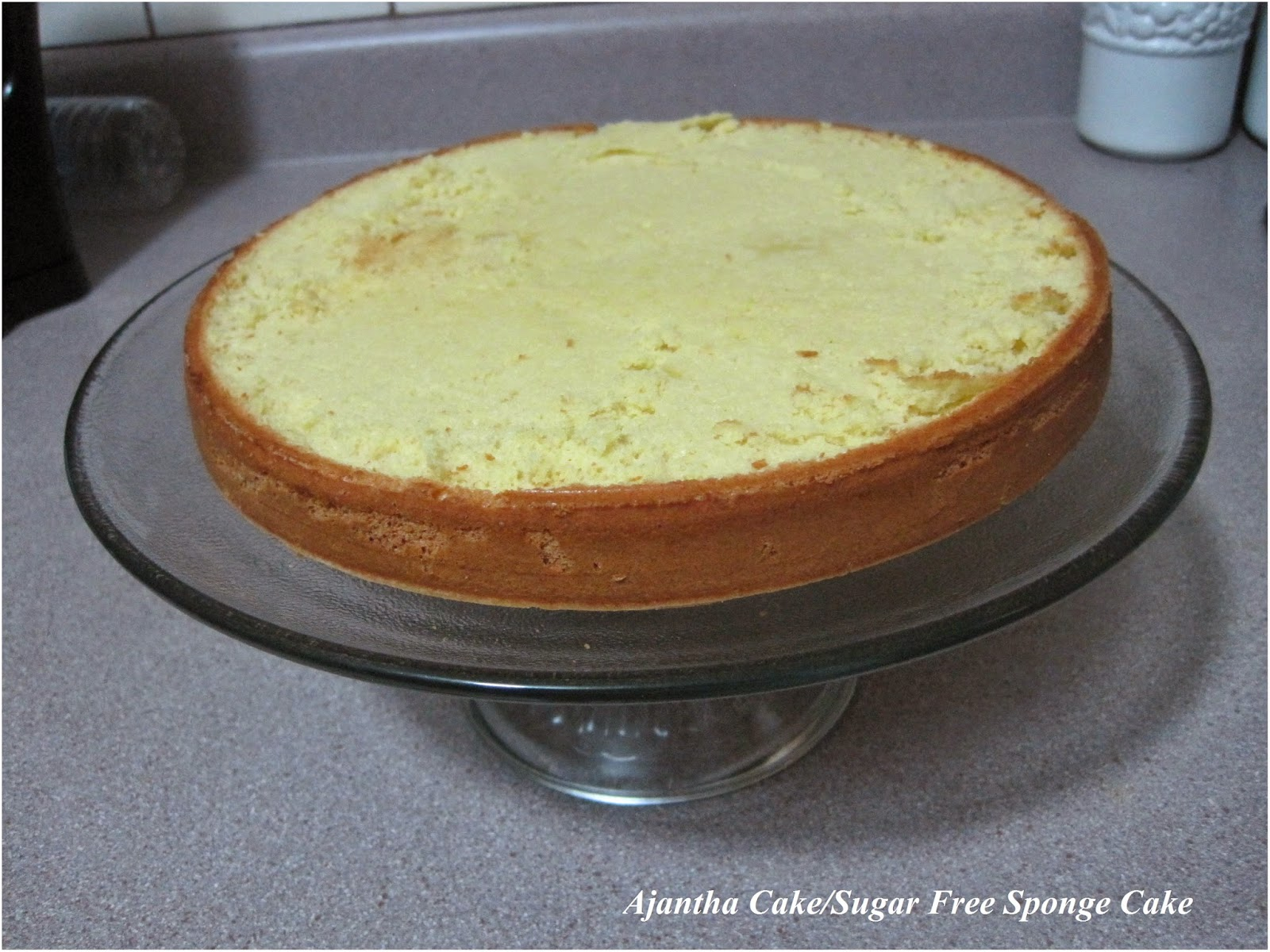 Ajantha Cakes/Sugar Free Sponge Cake