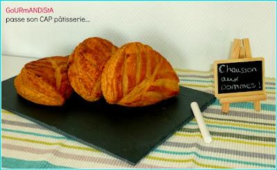 image GoURmANDiStA passe son CAP pâtisserie : Chaussons aux pommes