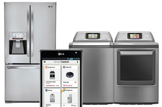 LG smart home appliances at CES 2013