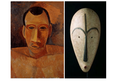 picasso african art influence Cubism was the first abstract art style the influence of african art left: pablo picasso, 'head of a the cubists were influenced by art from other.